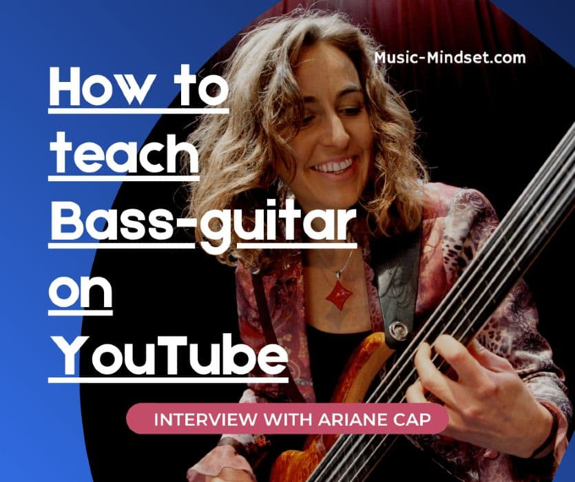 In this awesome interview with YouTube bass guitar instructor Ariane Cap, you will learn how classical music combined with psychology can create the perfect bass study routines and guarantees for some awesome bass chops. Don't forget to check out her awesome YouTube channel for lessons and play troughs.