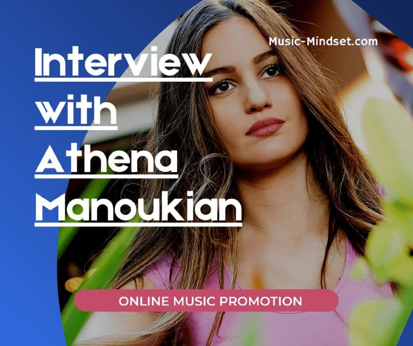 """In this interview with the awesome Athena Manoukian, (Eurovision 2020), you see her way of achieving her goals in music and her view on the music business today.From the early beginning at the age of 12 up until her latest hit song """"XO"""", Athena lives and breathes music.Check out her YouTube channel too! It is booming, and she has a great YouTube strategy that works really well!!"""