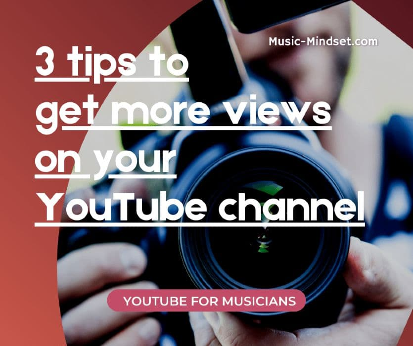 Getting more YouTube views on your music channel can be a big challenge.If you search on Google and YouTube, you will find a lot of blogs and videos that talk about this topic.That is understandable, as getting views on your music videos is one of the most important things on your channel.You want people to enjoy your music, and the more the better.