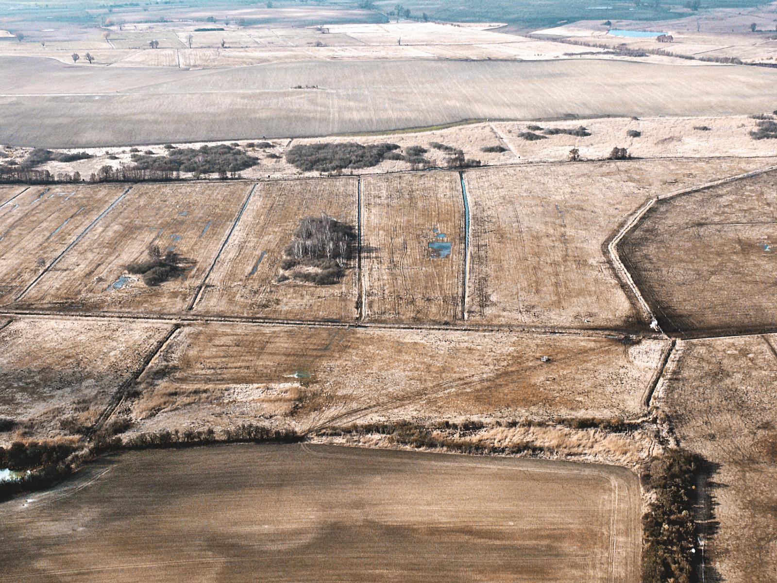 Spuren der Landwirtschaft im Sernitzmoor