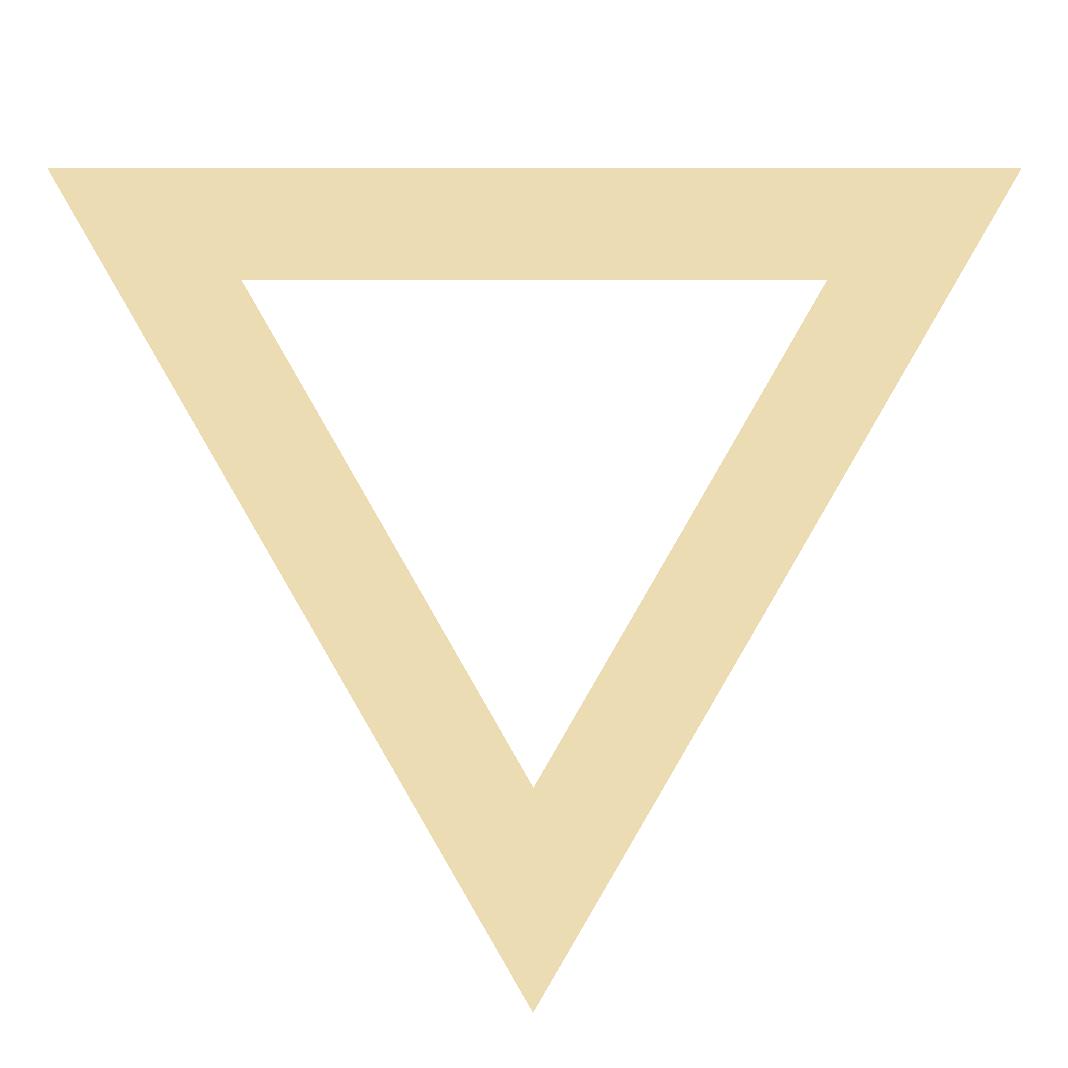 Upside-down triangle