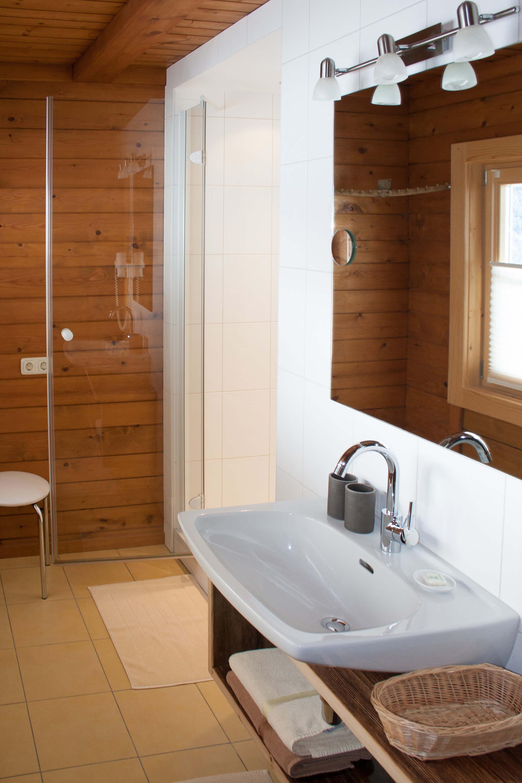 Badezimmer Ferienwohnung Morgensonne.