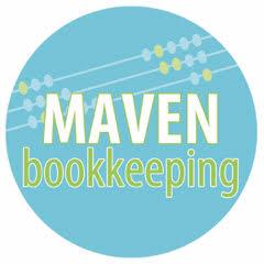 Maven Bookkeeping Logo