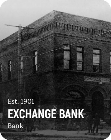 History Card of the Exchange Bank