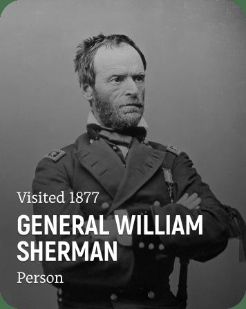History Card of General William Sherman