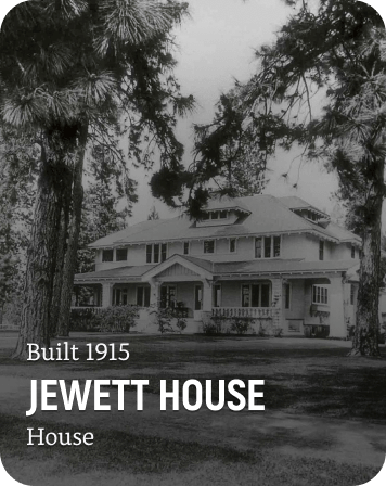 History Card of the Jewett House