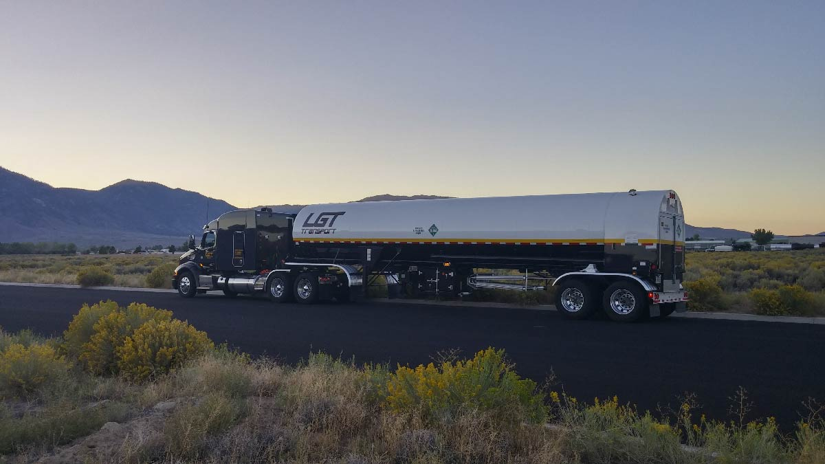 200 trucks and 123 trailers hauling products like Nitrogen, CO2, and Argon