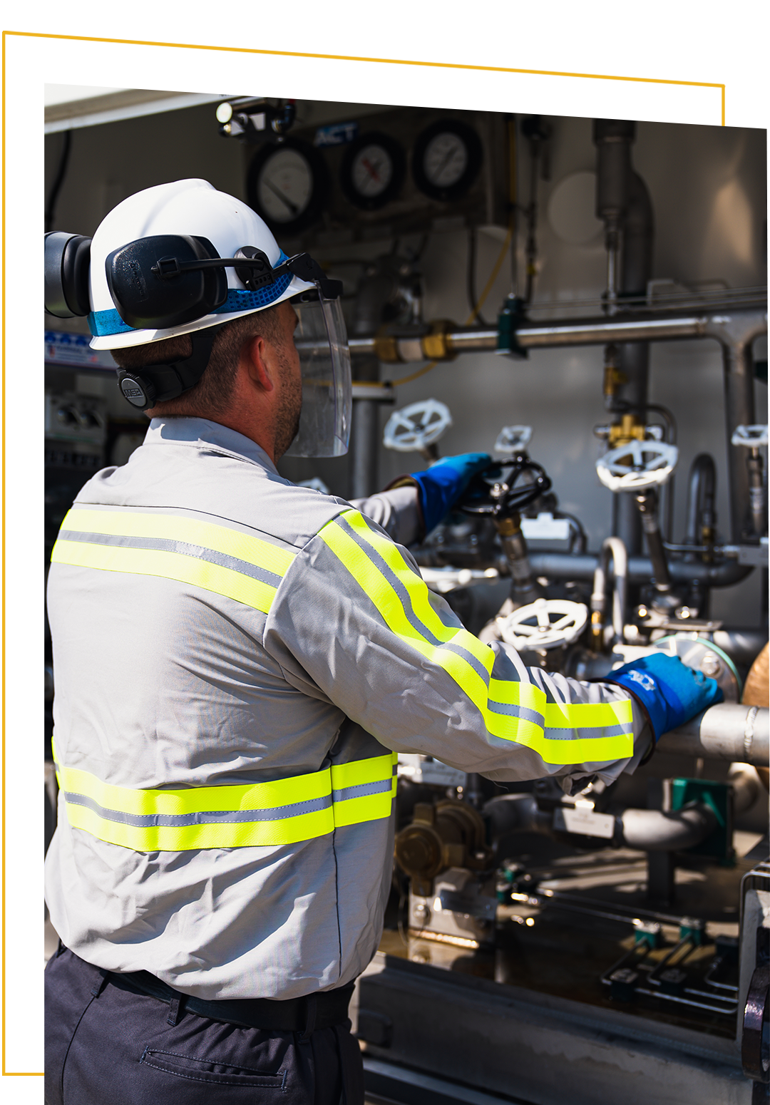 safety is key when it comes to industrial gas transportation
