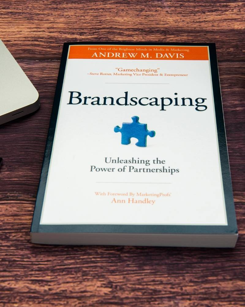 Brandscaping by Andrew Davis, one of the best content marketing books in the world.