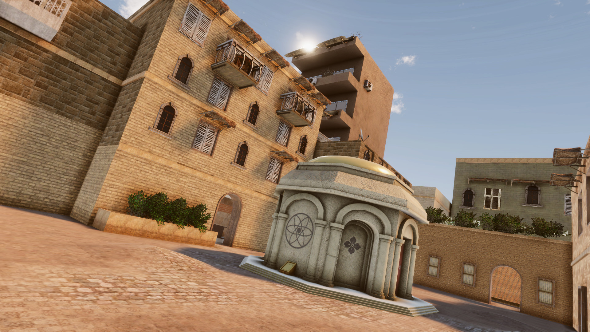 Oasis map screenshot