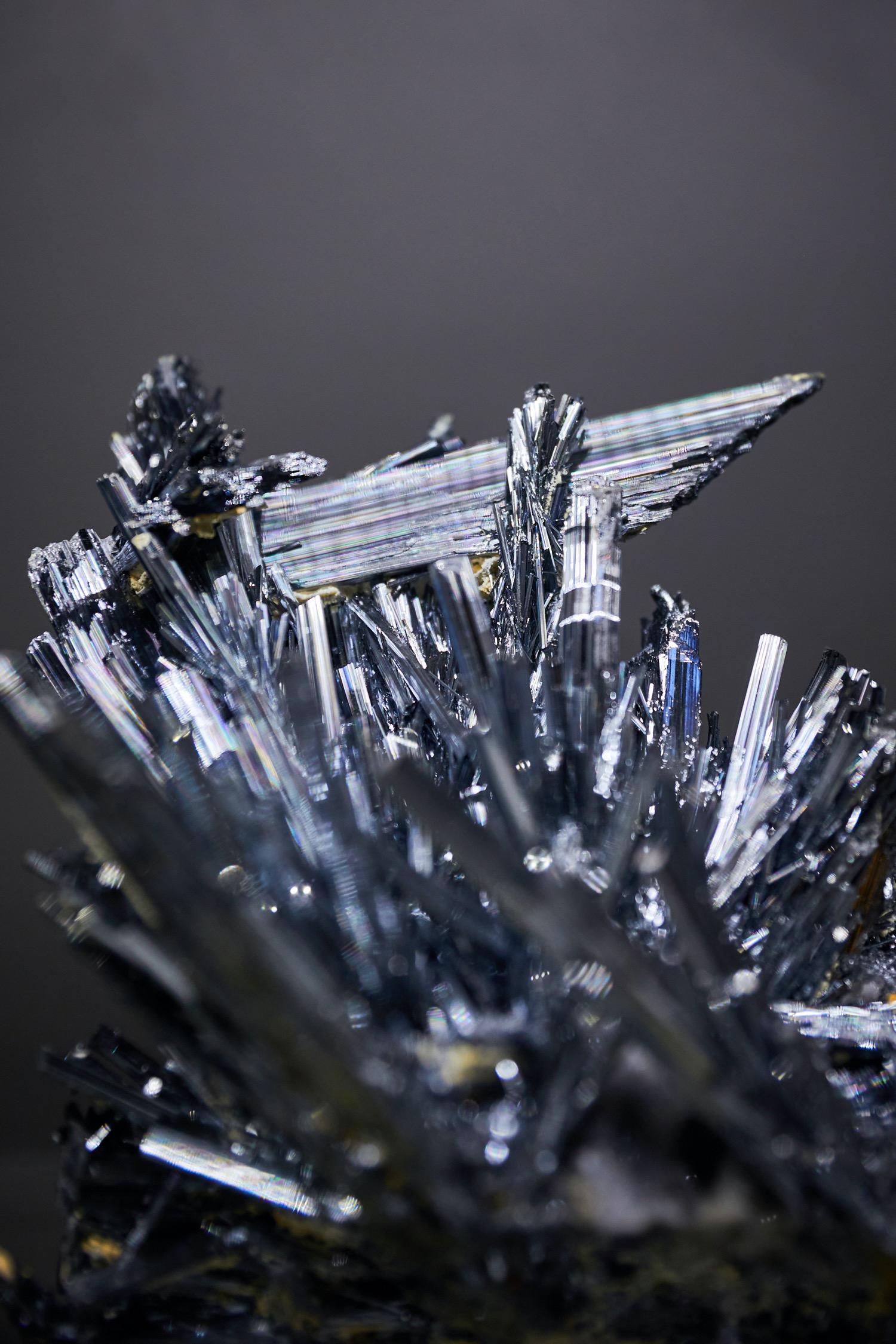 Mineralienhotel - Stibnite - Antimonite - Lengshuijiang - Hunan - China