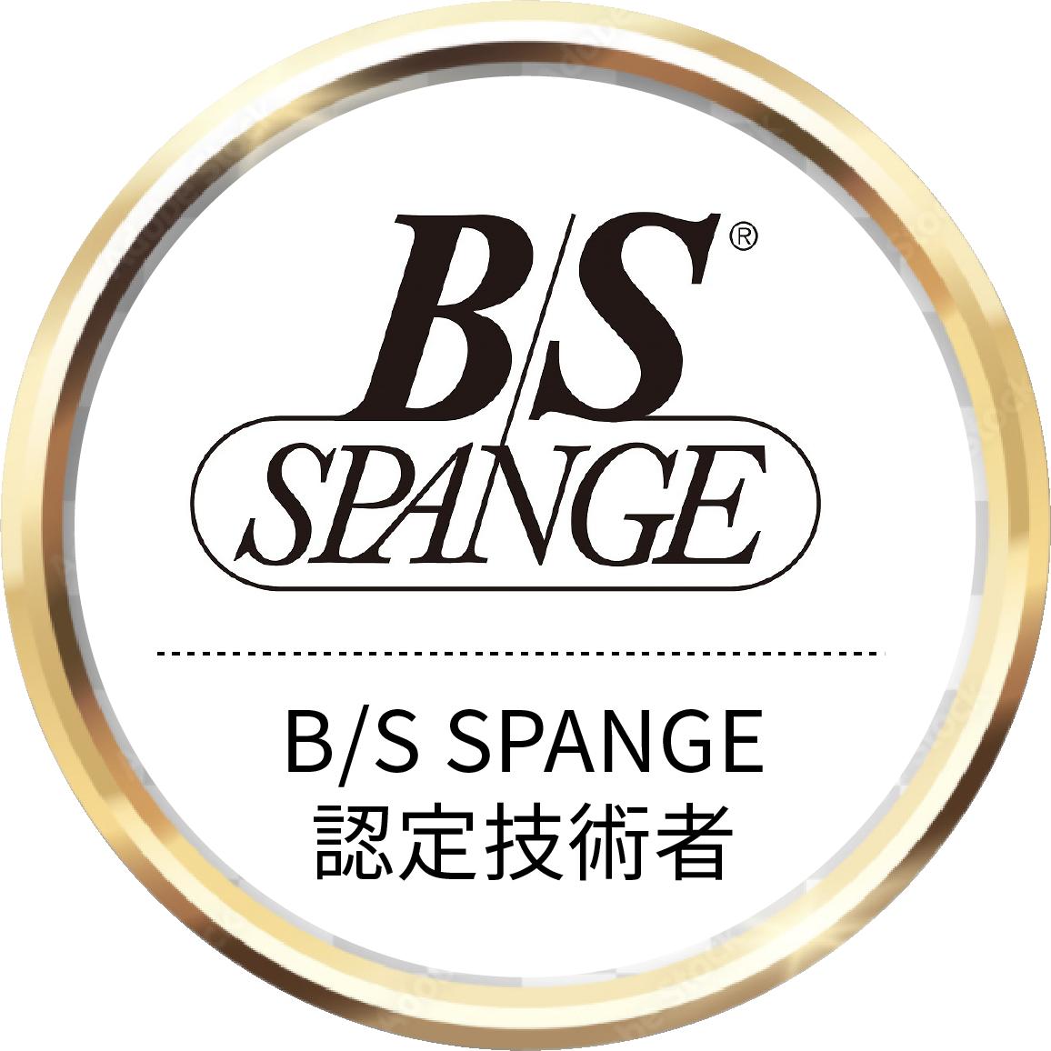 BS SPANGE認定技術者