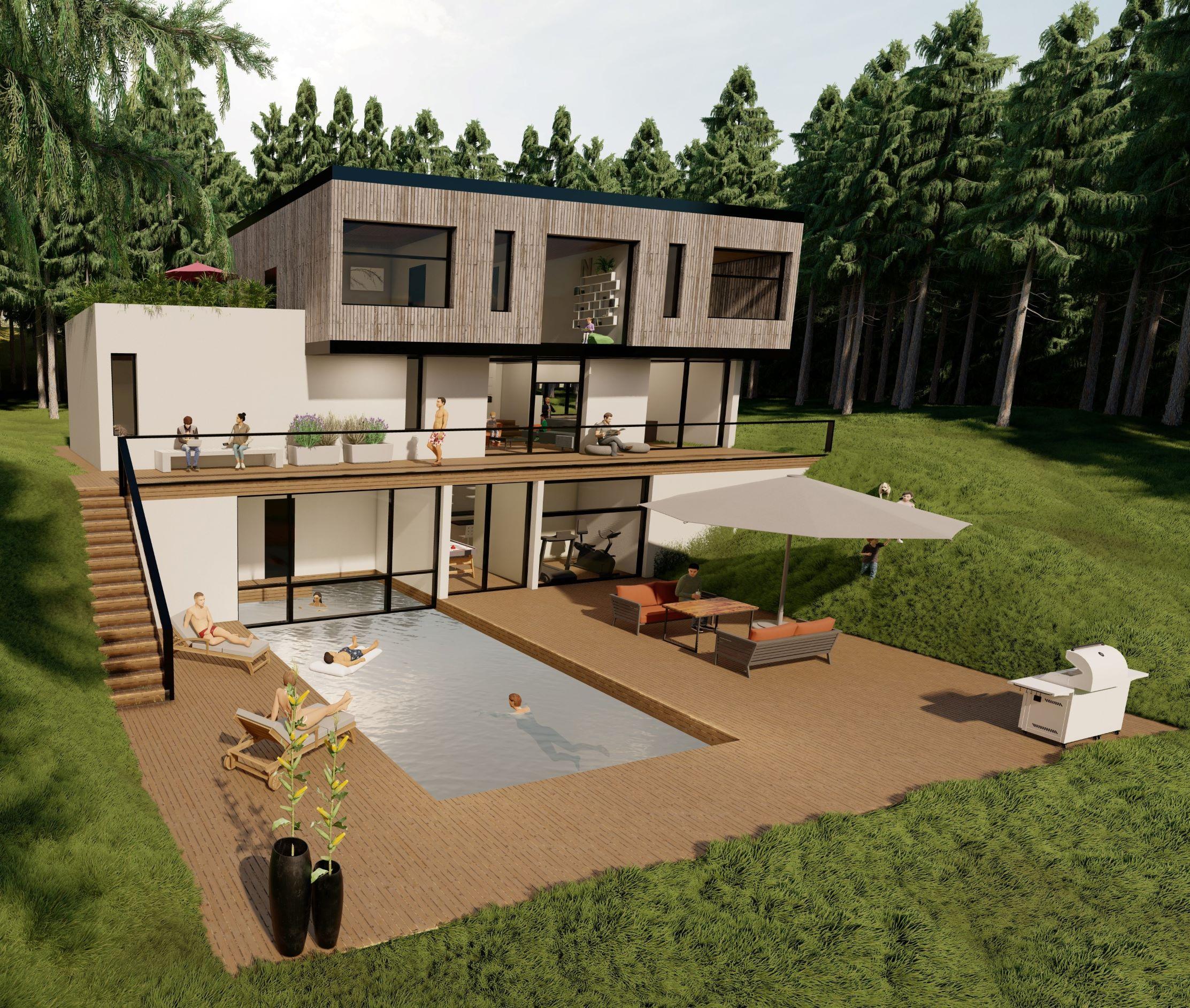 Maison Alpina 200m²
