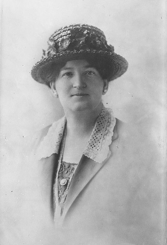 Nellie McClung, courtesy of the Provincial Archives of Alberta.