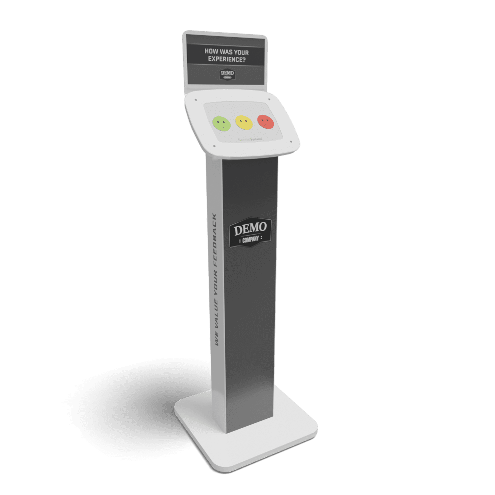 1 question kiosk