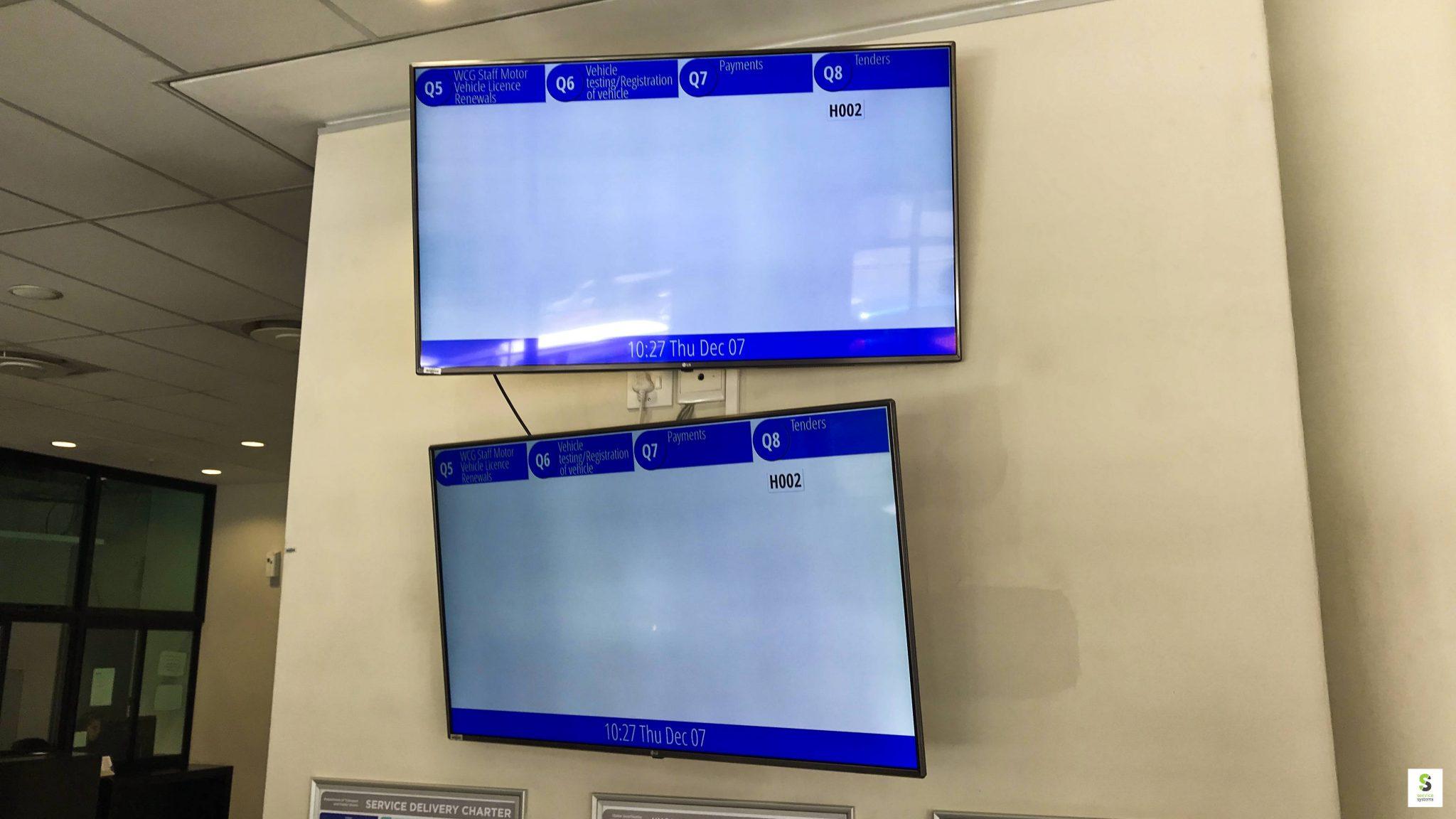 wcg tv screens