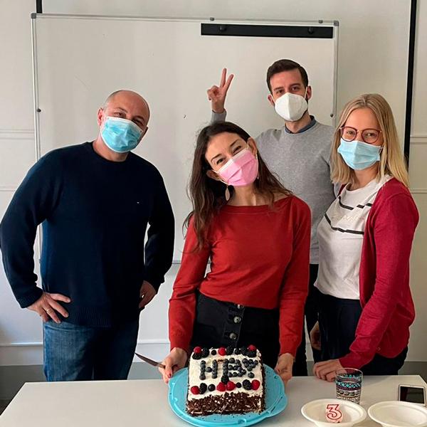 Otro aniversario!!!! pero muy diferente , hay que cumplir con las medidas sanitarias Covid.