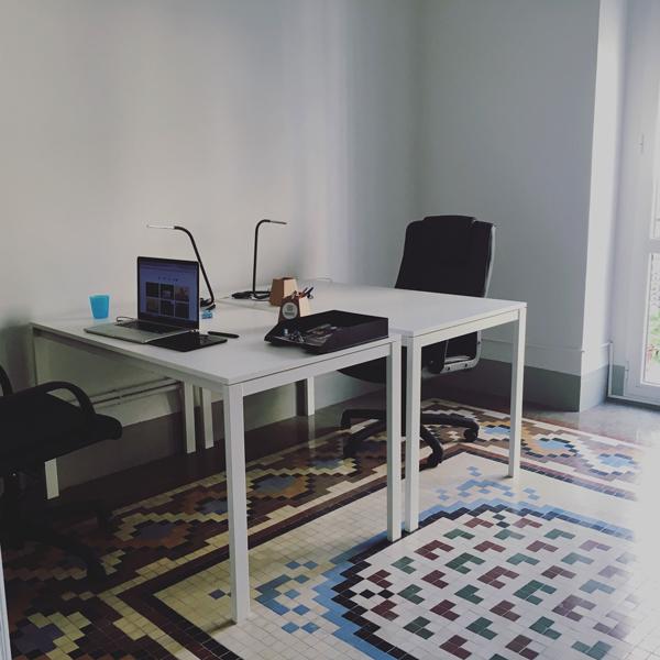 Uno de los despachos de Mosaico Coworking