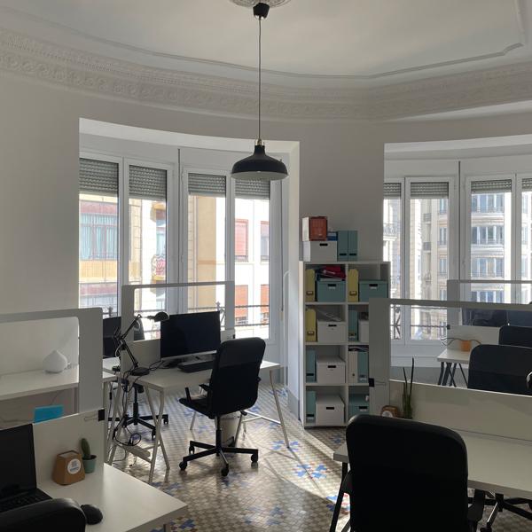 Sala compartida Bow-Window