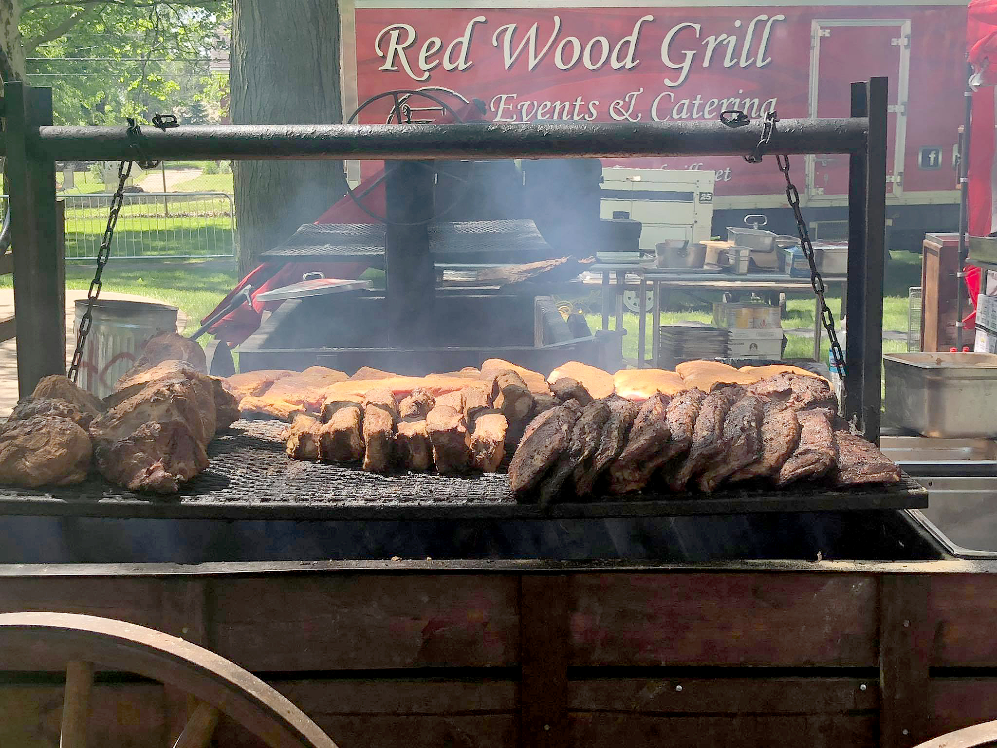 Red Wood Grill Story