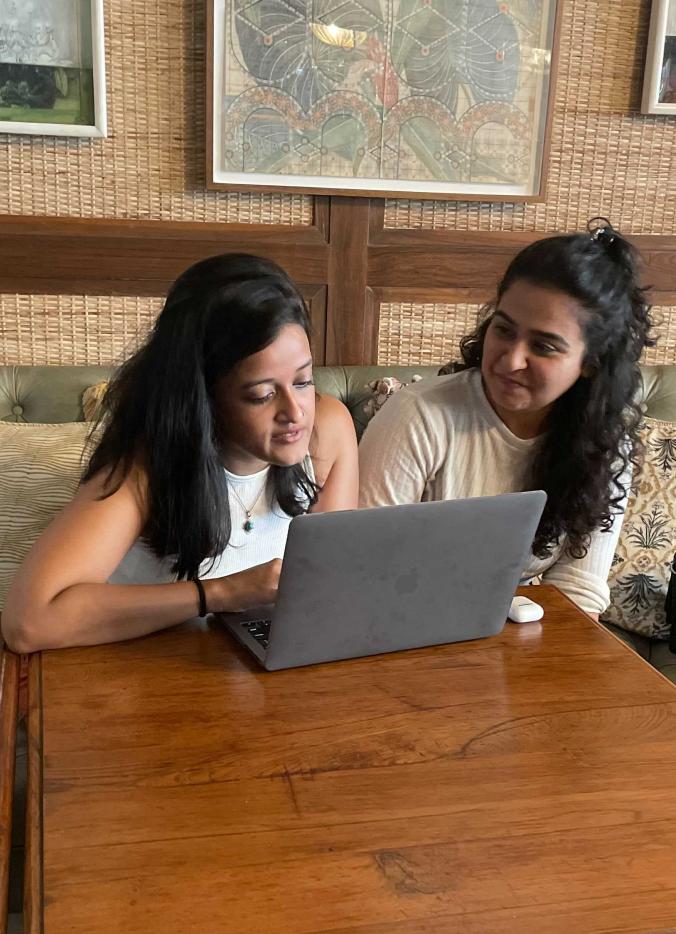 Team Member Working on Laptop