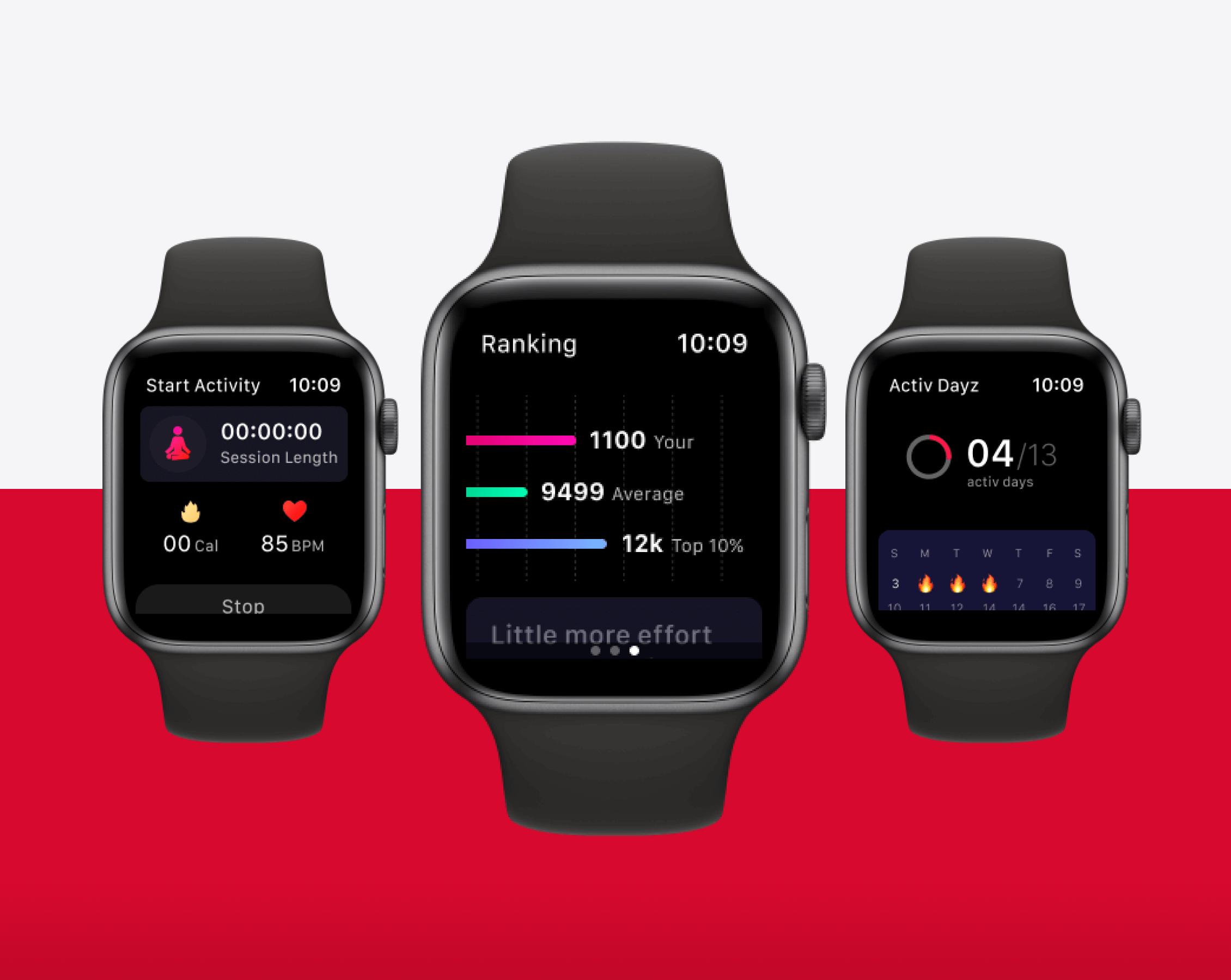 Activ Health Wearable App