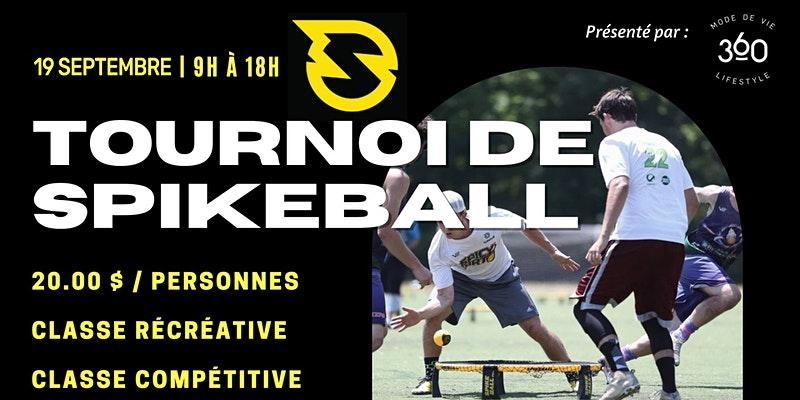 Tournoi de Spikeball   Présenté par Mode De Vie 360