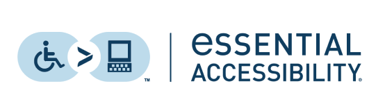 Company logo for Essential Accessibility