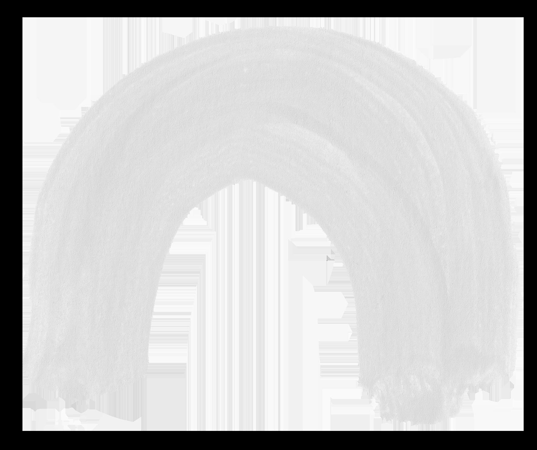 White Arch Paint Stroke