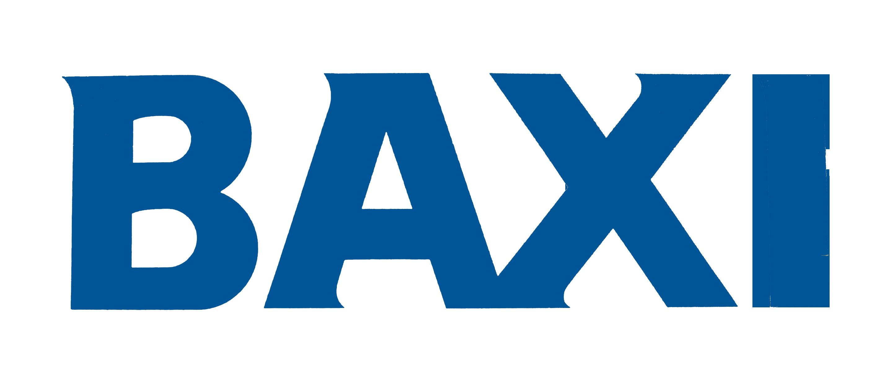Baxi boiler logo - Aquavolt boiler installations in Yorkshire and North East Derbyshire