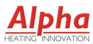 Alpha boiler logo - Aquavolt boiler installations in Yorkshire and North East Derbyshire