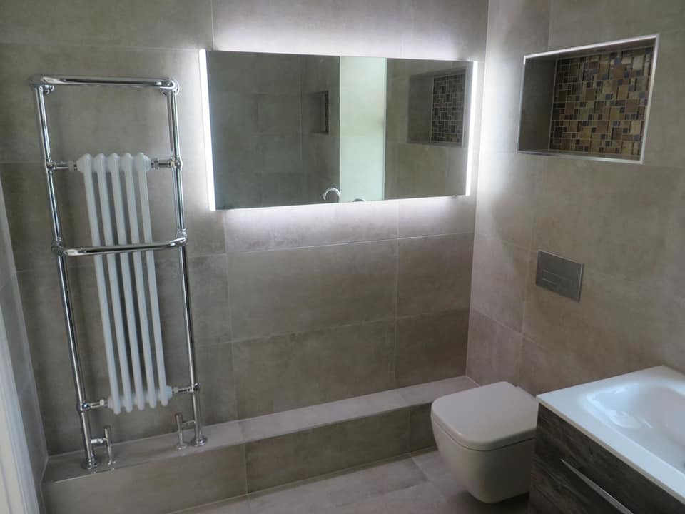 Bathroom full installation by Aquavolt in Sheffield