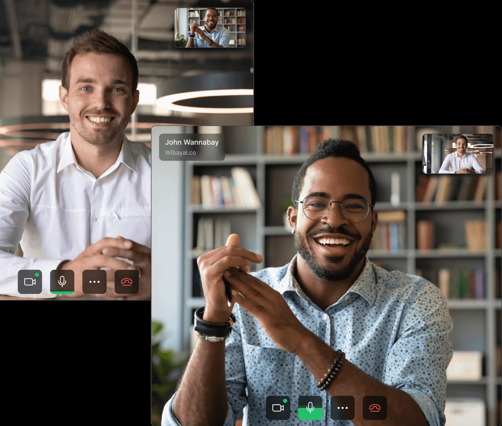 relation building app screen meetsales