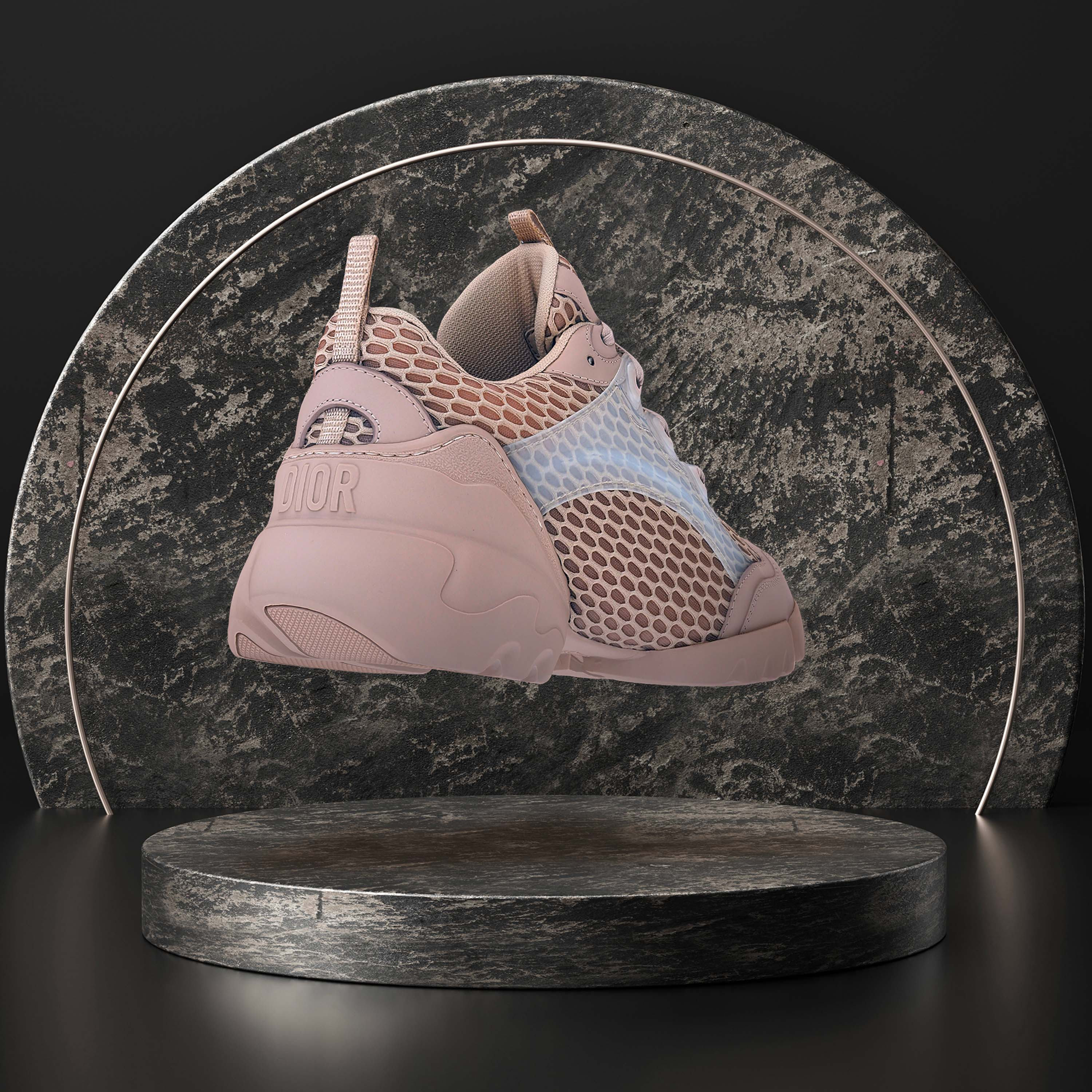 a ray tracing 3D render by Naker sneaker