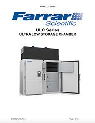 Farrar Scientific ULC Series user manual