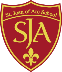Saint Joan of Arc School Crest Click to return to home page