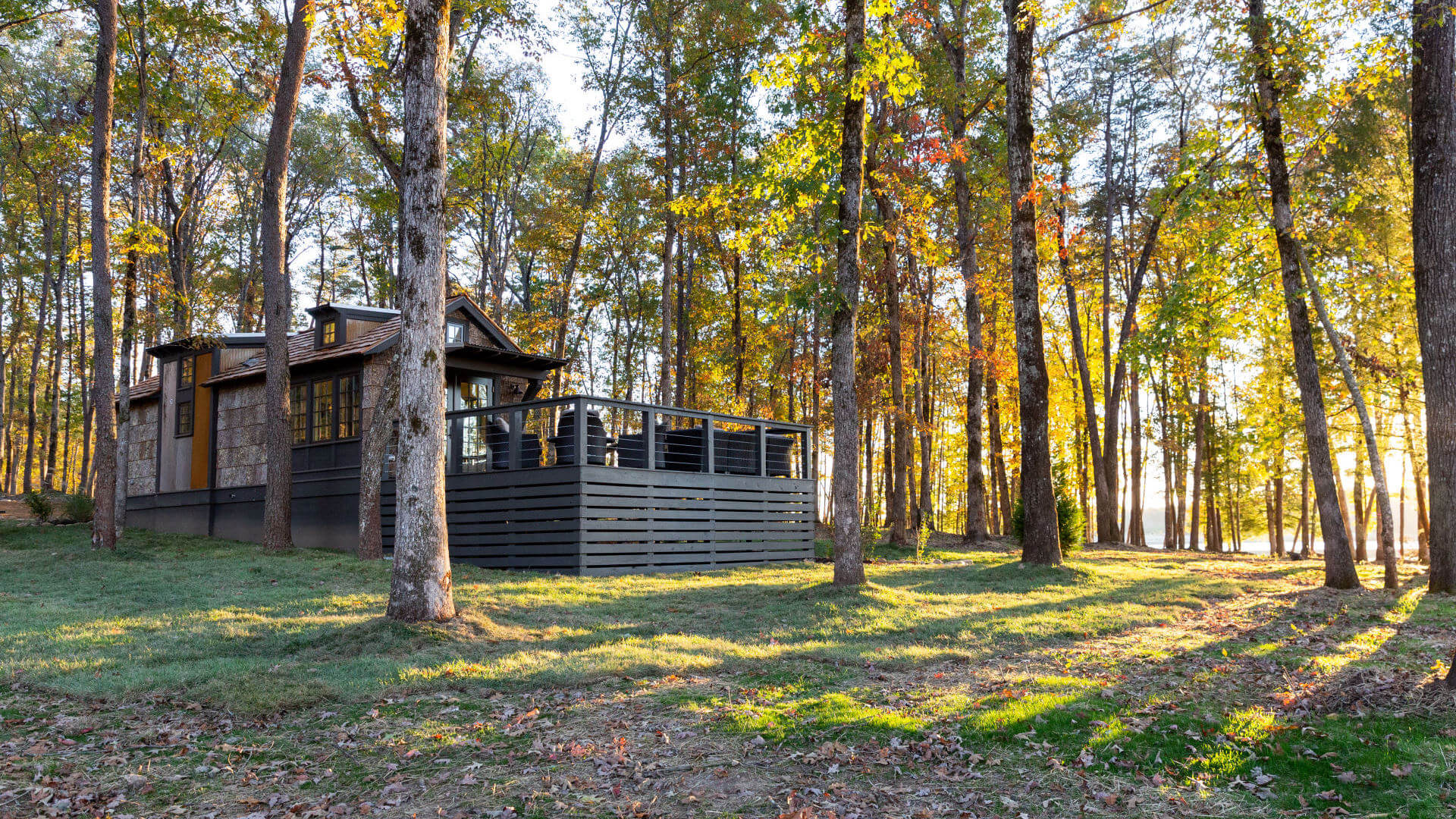 The Low Country Designer Cottages tiny home at The Retreat at Water's Edge