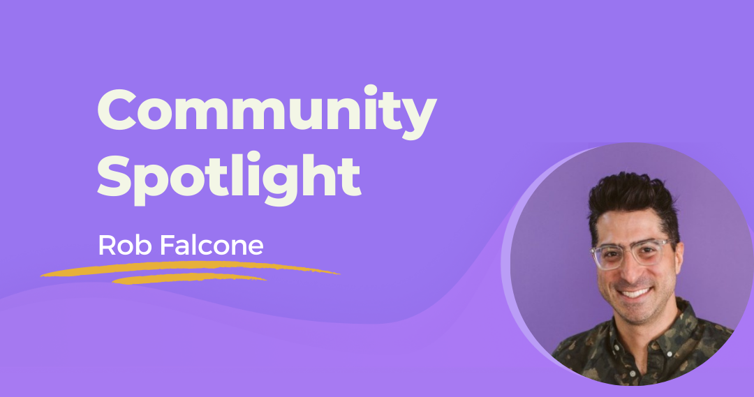 PLS Community Spotlight: Rob Falcone