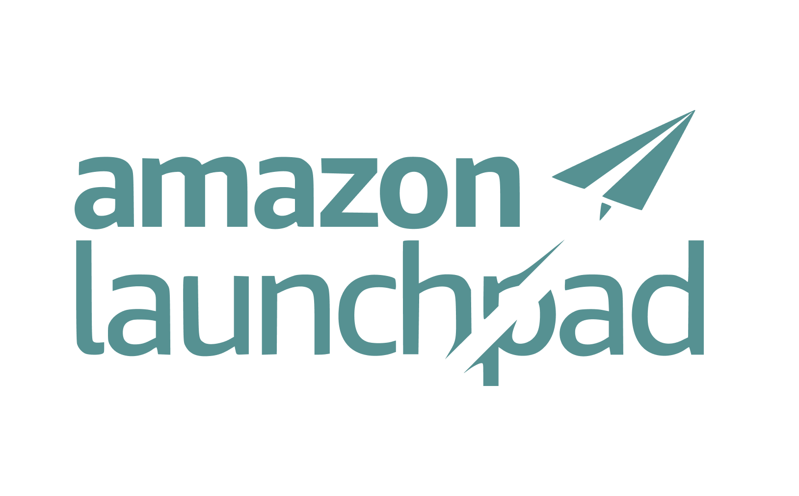 Amazon Launchpad logo featuring a paper plane