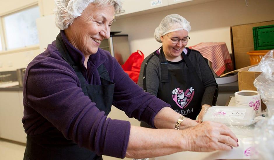 Image of Bellyful volunteers