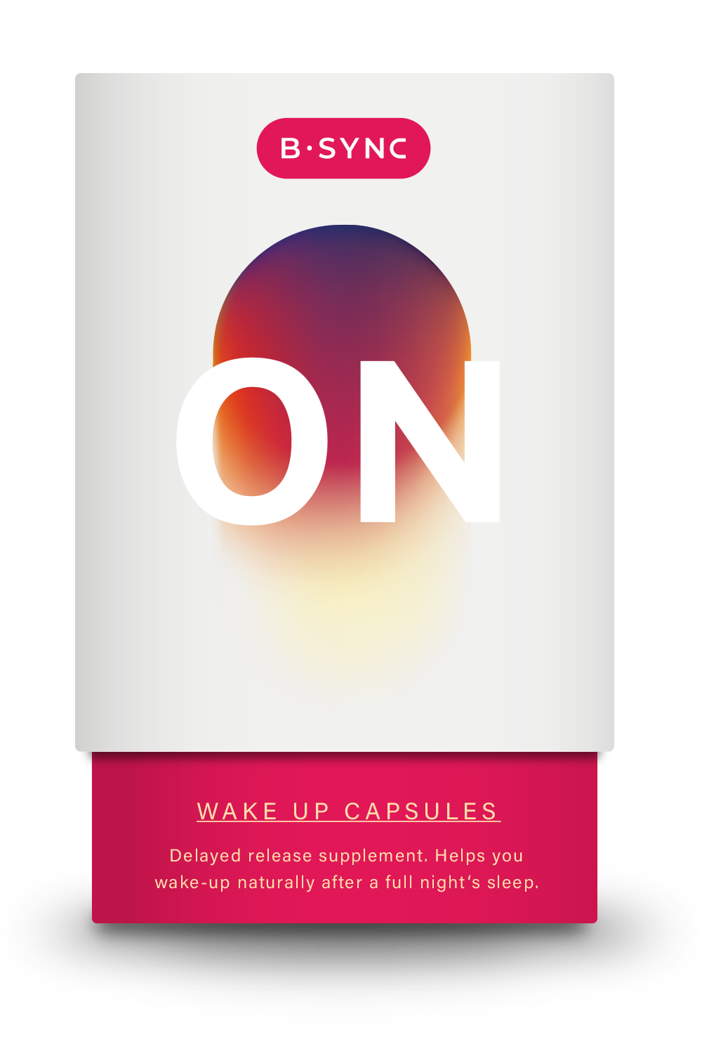 Packshot B-SYNC ON Food supplement to wake up with ease - when you want