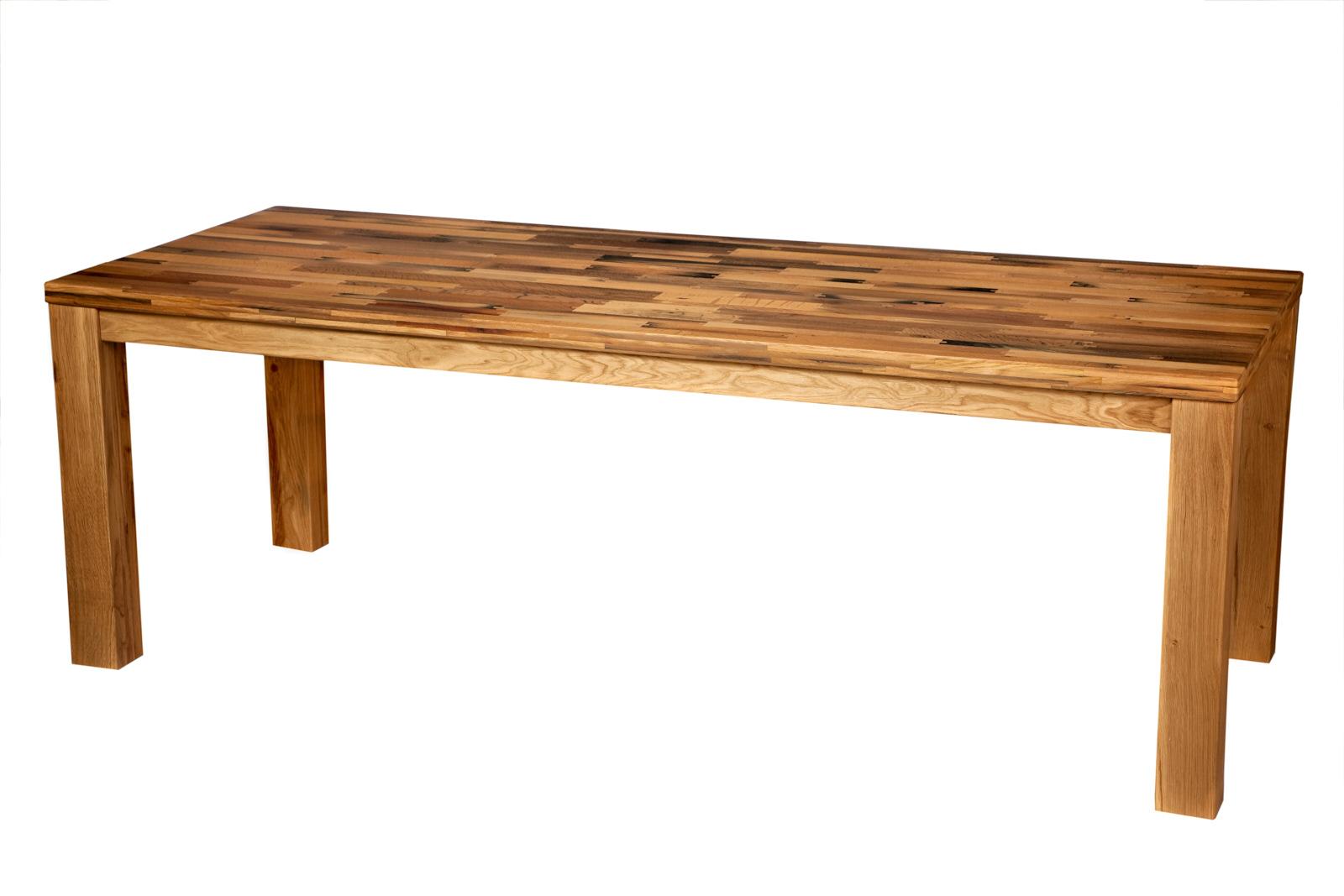 Exklusiver Esstisch und hochwertigen Weintisch aus alten Eiche Rotweinfässern, besonderer Holztisch mit einzigartigem Charakter, edler Massivholztisch für Weinliebhaber