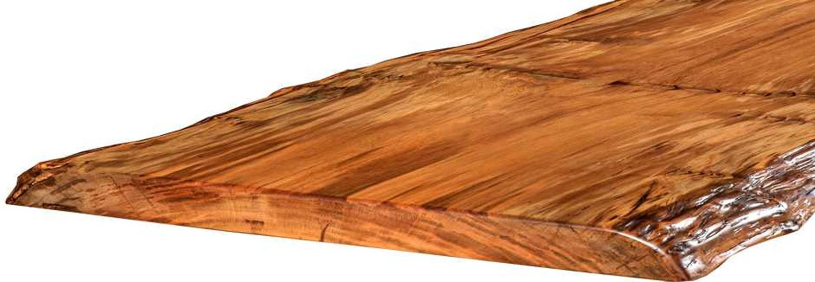 Konferenztisch aus außergewöhnlich großem Kauri Baum, Baumstammtisch aus prähistorischem Baum aus Neuseeland