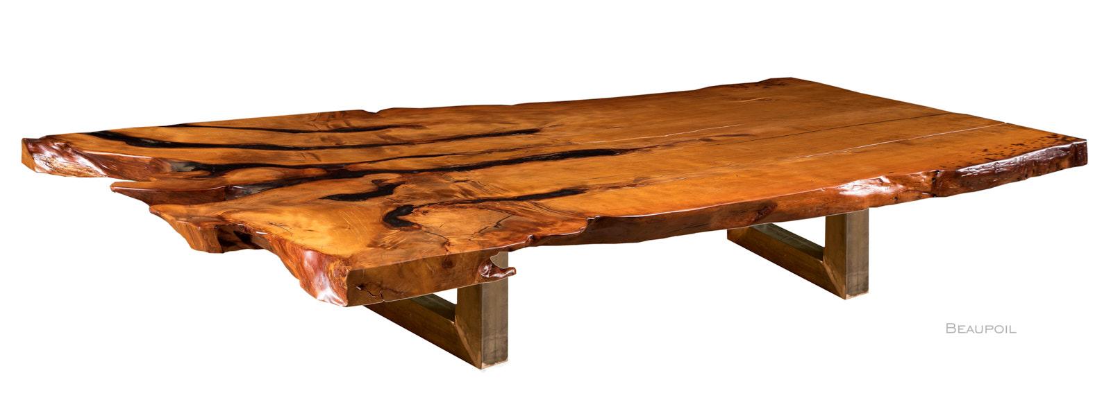 Außergewöhnlicher Kauri Baumtisch als herausragender Konferenztisch mit besonderer Tischplatte, ein handgefertigtes Unikat