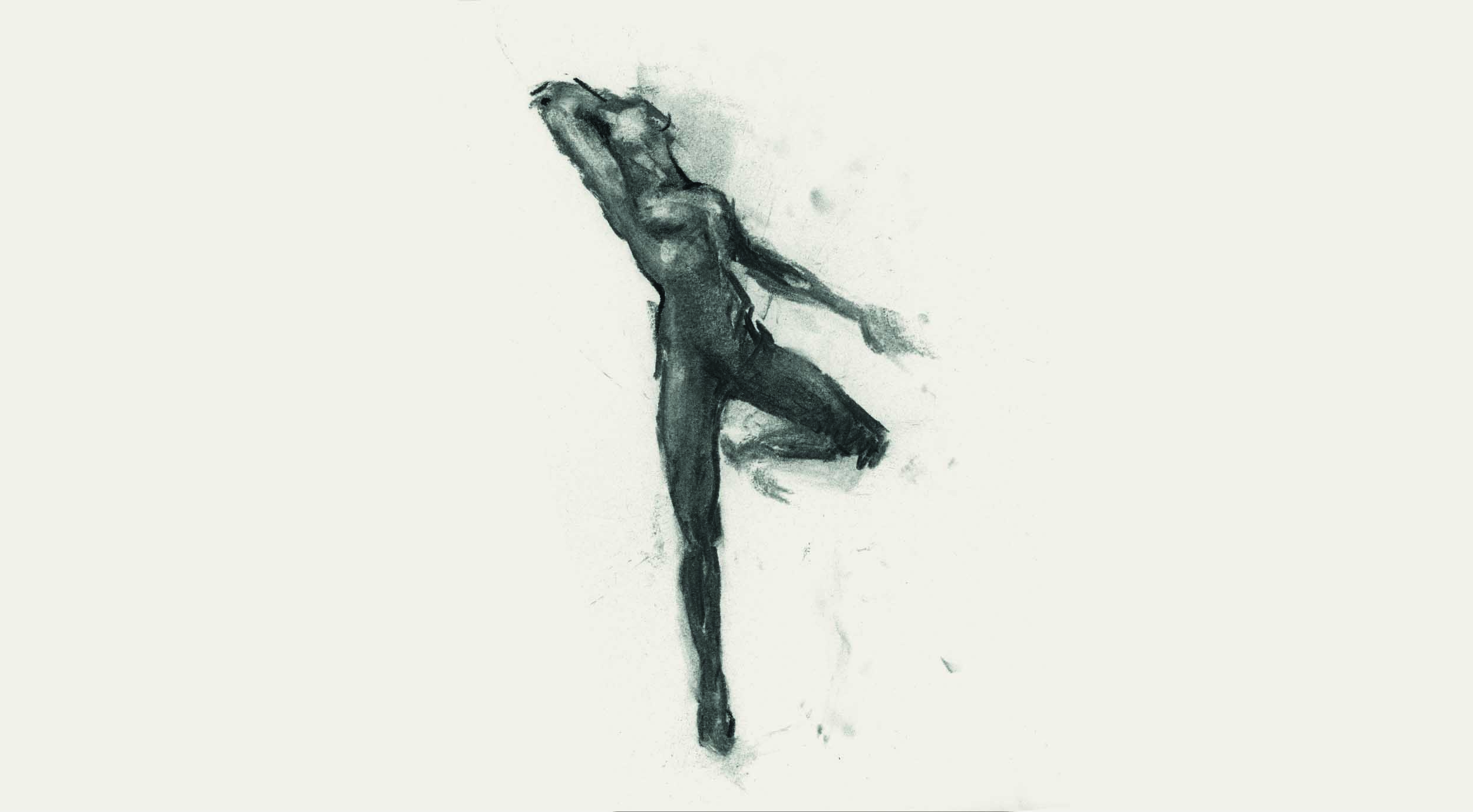 figure of a woman stretched out