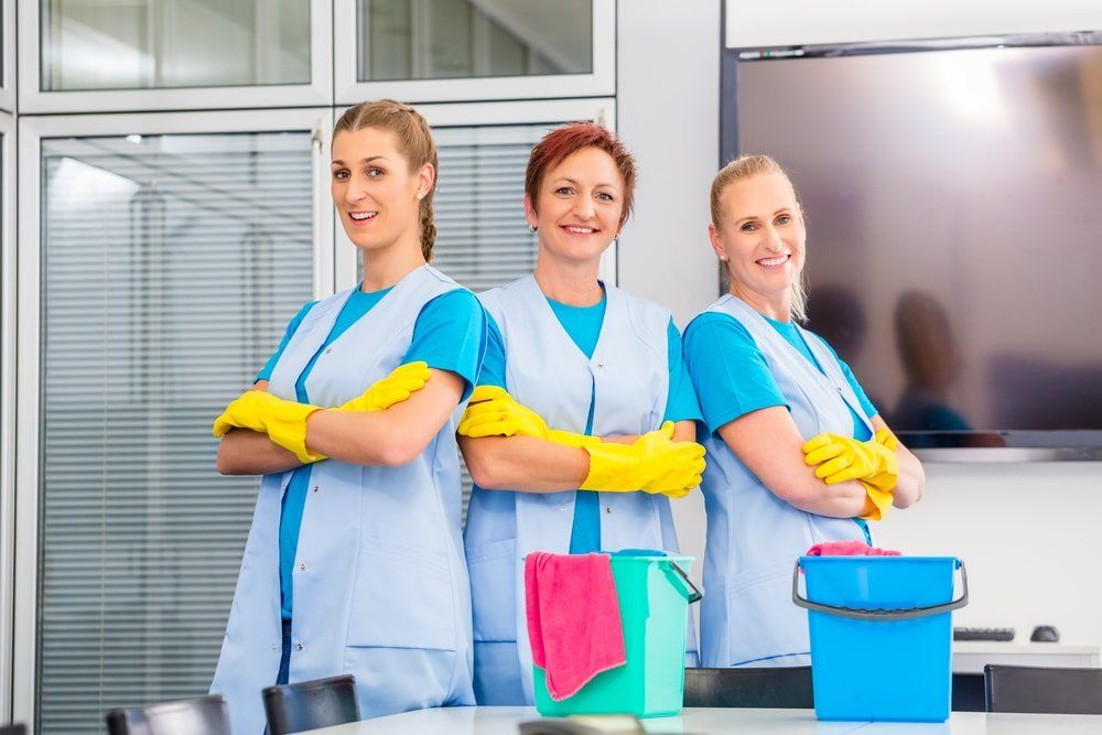 House Cleaning and Maid Services crew