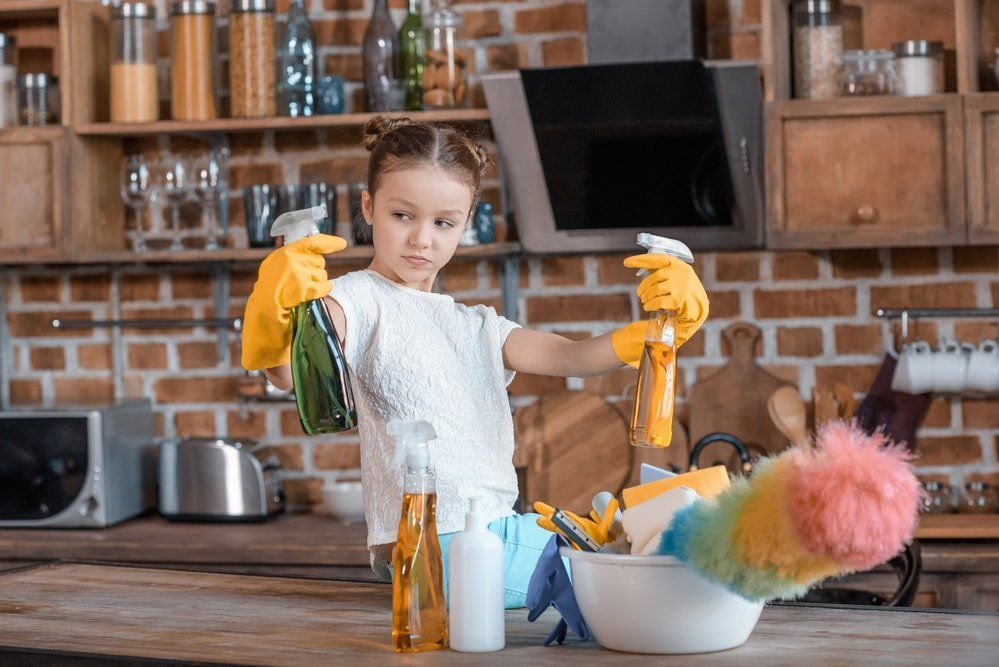 House cleaning supplies that are not harmful for your family