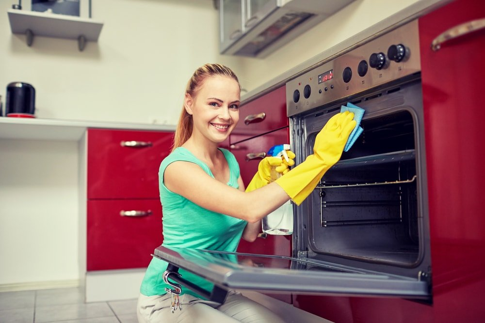 deep cleaning while ouse cleaning