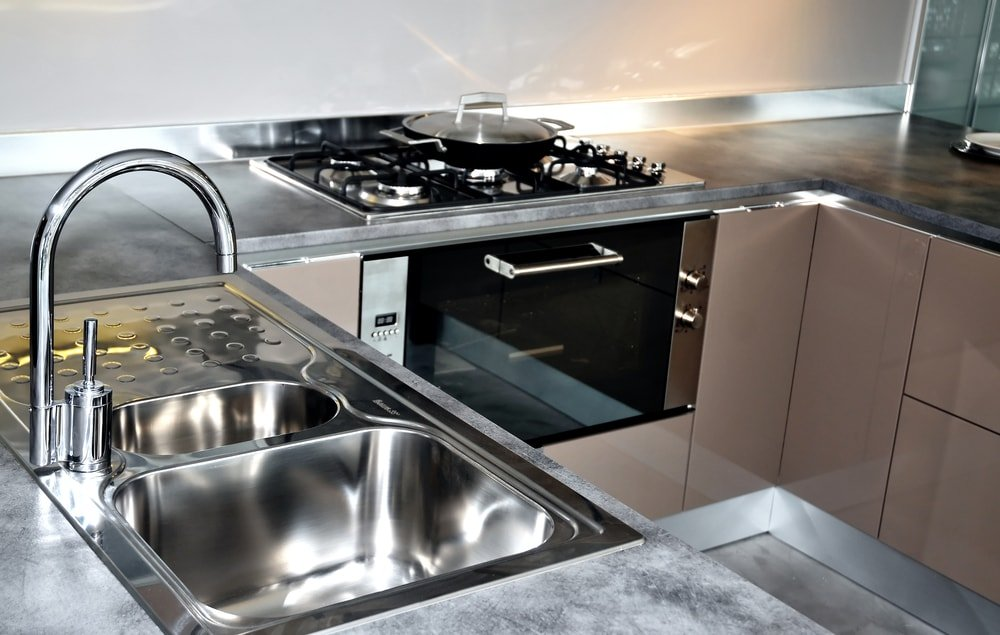 house cleaning steel appliances
