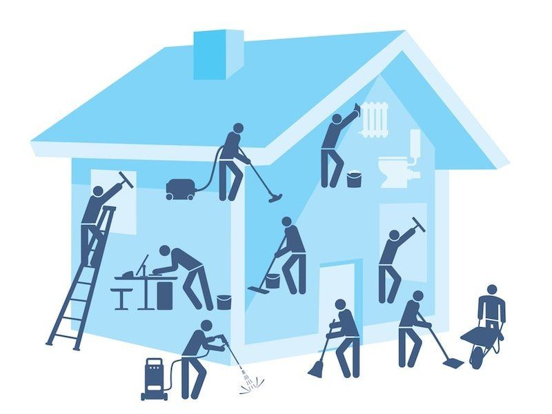 cleaning your home with house cleaning service in Naperville